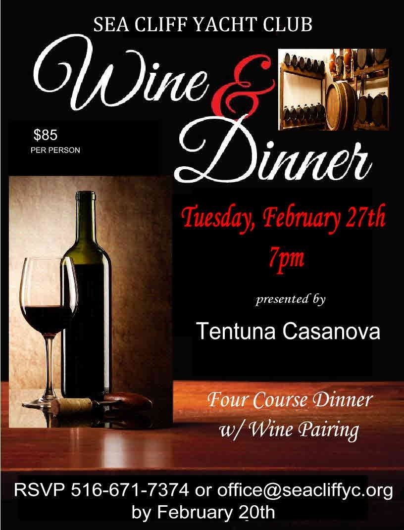 Tuscan Wine Pairing Dinner 2018